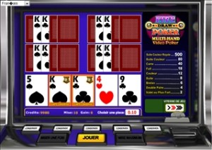 7Red Five Draw Poker