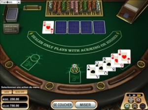 Caribbean Poker Flash
