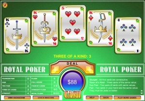 Royal vidéo poker
