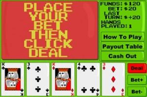 Exciting vidéo poker