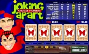 Joking Apart (Video poker)