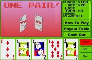 Jouez gratuitement a Exciting video poker .