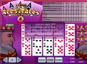 Aces Faces 4 line