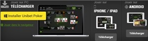 Unibet Poker sur Mobile